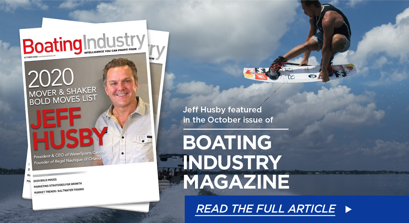 Jeff Husby In Boating Industry Magazine